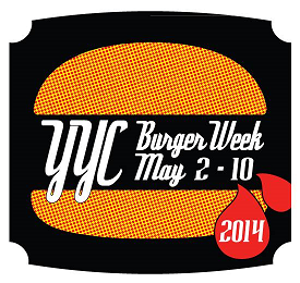 The YYC Burger Week Logo